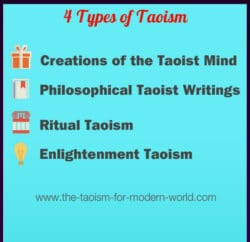 Types of Taoism in the Modern world